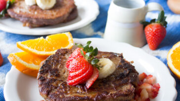 Vegan Banana French Toast + VIDEO