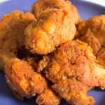 "Spicy Fried Cauliflower ""Chicken"" 