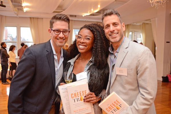 NEW YORK, NEW YORK - APRIL 13, 2017: Physicians Committee for Responsible Medicine Presents the Cheese Trap Book and Fundraising Event Featuring Neal D. Barnard at the Midtown Loft and Terrace, 267 Fifth Avenue on April 13, 2017 in Manhattan, New York. (Photo Credit: Lukas Greyson /lukasmaverickgreyson.com)