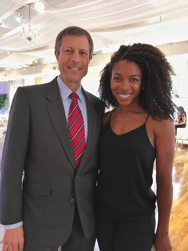 Jenné Claiborne and Dr. Neal Barnard | Physicians Committee for Responsible Medicine Presents the Cheese Trap Book and Fundraising Event Featuring Neal D. Barnard