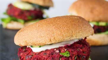 World's Best Veggie Burger | Black Bean Beet Burgers {VIDEO}