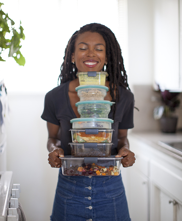 Vegan Meal Prep Back to School Lunch Ideas | www.sweetpotatosoul.com