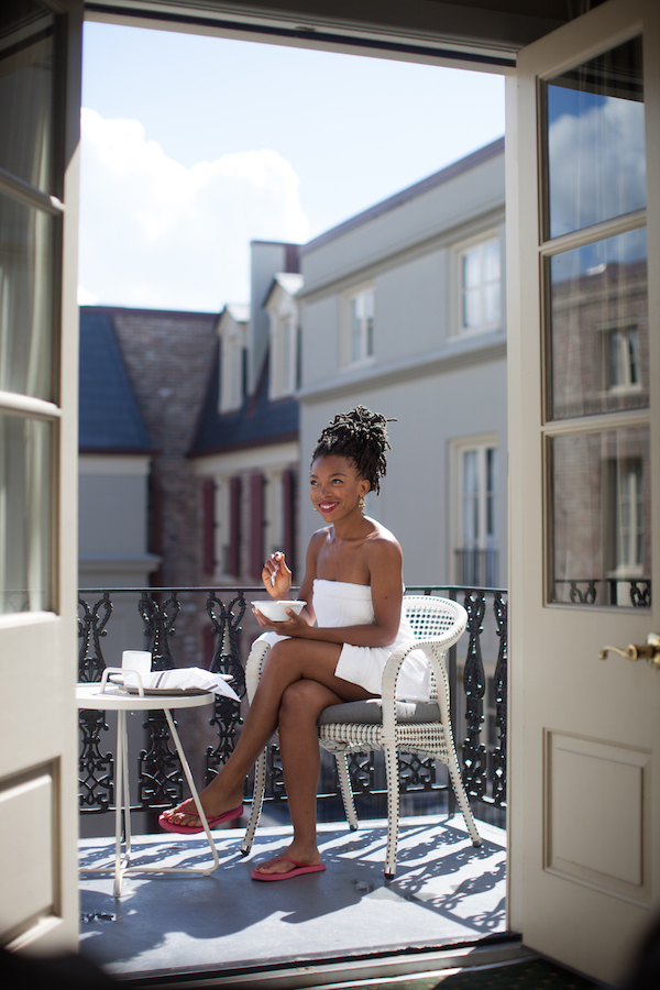 Hotel Maison Dupuy Balcony | Vegan New Orleans