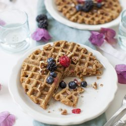 Sweet Potato Waffles + Our New Life in Los Angeles