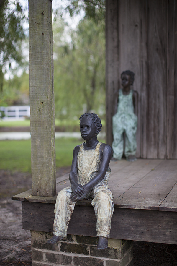 Whitney Plantation Louisiana Sculptures | Vegan New Orleans