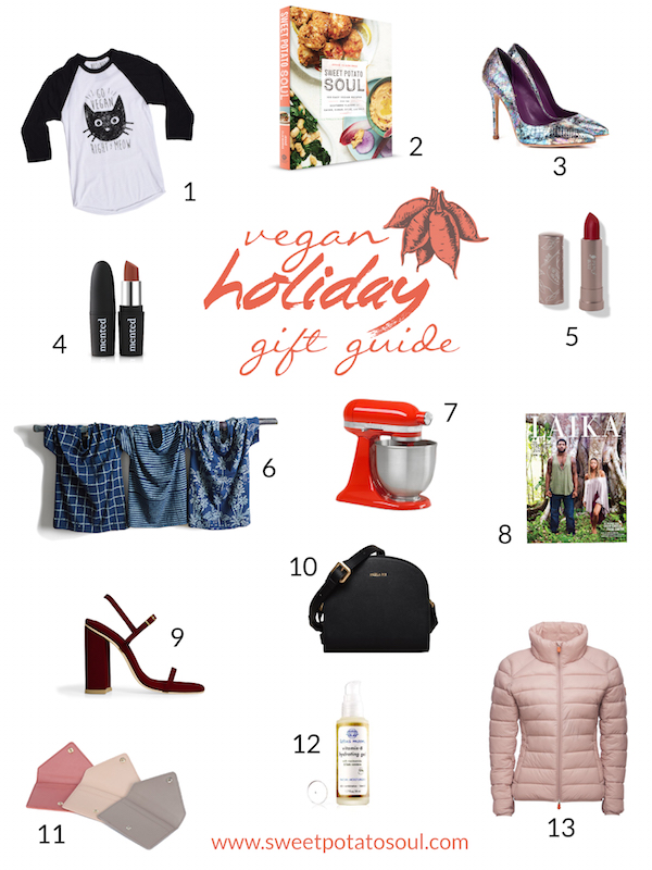 Vegan Holiday Gift Guide 2017