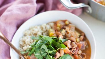 Black Eyed Pea Gumbo | Cookbook Pre-Order Bonus!