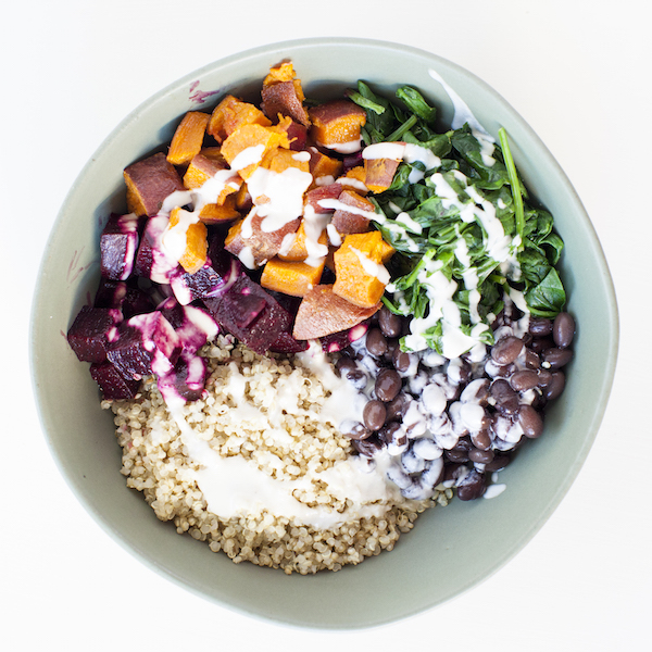 Vegan Meal Plan Buddha Bowl Classic Beets Bowl | @sweetpotatosoul