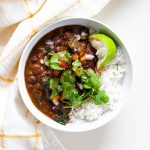 Black Bean Coconut Stew | Instant Pot Black Beans