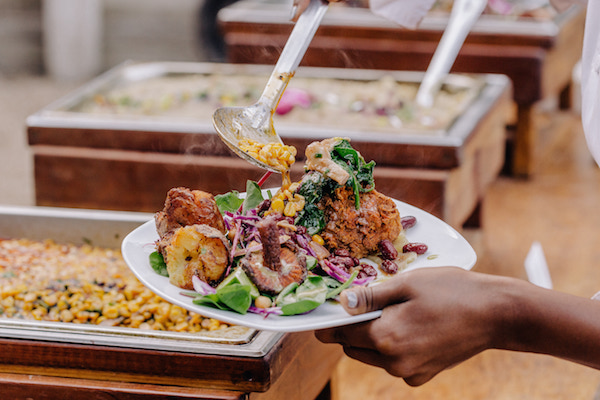 Perfect Vegan Wedding Caterer Lauren Von der Pool