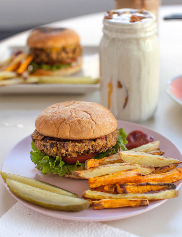 Vegan Milkshakes Burgers Fries | @sweetpotatosoul