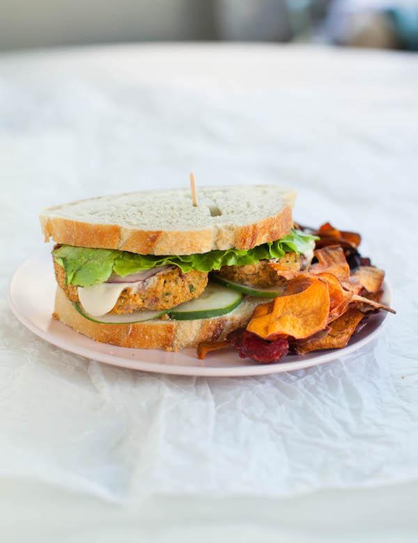 Zucchini Quinoa Burgers Vegan Lunch Ideas