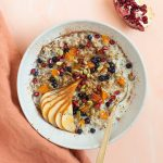 Easy Cracked Freekeh Porridge with Quinoa