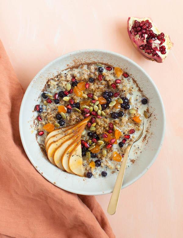 Freekeh Porridge | @sweetpotatosoul