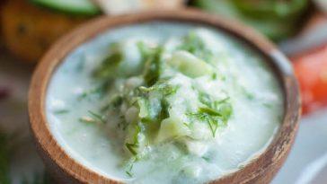 Vegan Tzatziki Sauce | Cooling & Versatile Cucumber Sauce