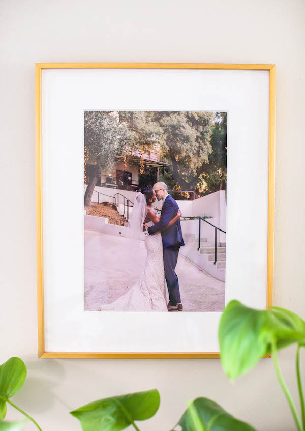 Artifact Uprising Framed Wedding Photo