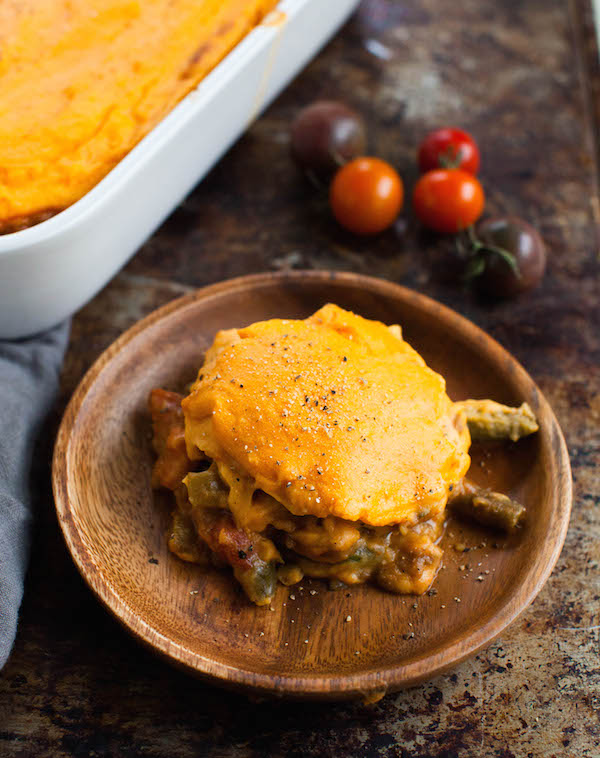 Sweet Potato Shepherd's Pie | @sweetpotatosoul