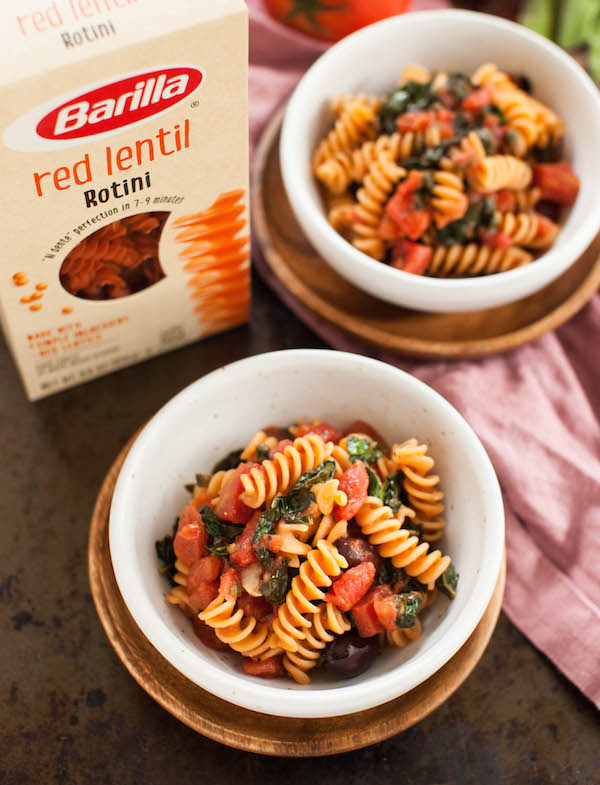 Vegan pasta puttanesca | @sweetpotatosoul
