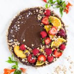 Dreamy Oatmilk Chocolate Mousse Tart