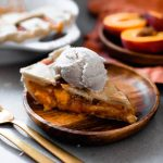 Perfect Vegan Peach Pie