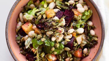 Roasted Beet & Potato Salad