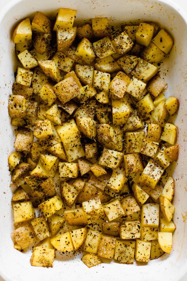 roasted beet and potato salad   @sweetpotatosoul