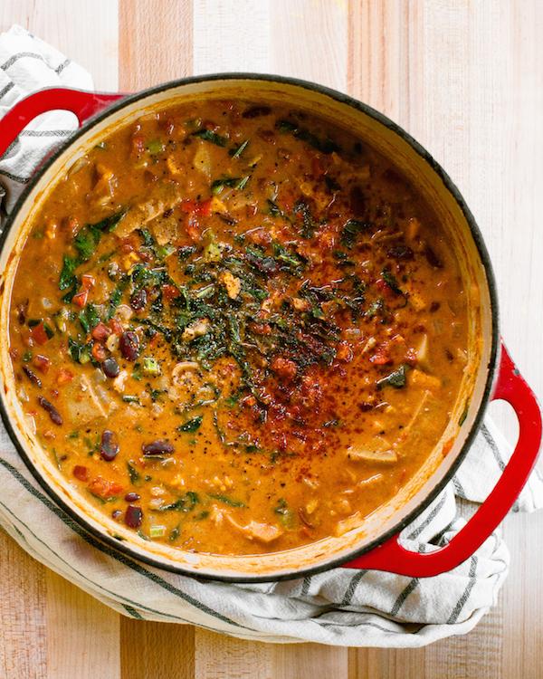 nut-free vegan west african stew | @sweetpotatosoul