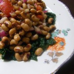 Black Eye Pea and Kale Salad
