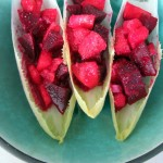 Peach & Beet Endive Boats + a Major Giveaway!