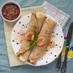 Buckwheat Crepes + Chocolate Sauce {Recipe &Video}