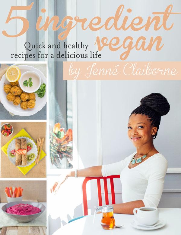 5 Ingredient Vegan Cookbook
