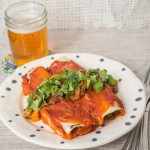 Curried Swiss Chard Enchiladas + My TV premiere!