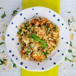 Cauliflower Samosa Salad + Thoughts on Freedom