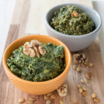 Dandelion Pepita + Basil Walnut Pestos {VIDEO}