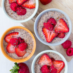 Very Berry Chia Pudding
