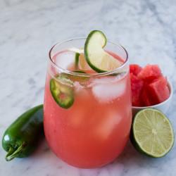 Mezcal Watermelon Margarita