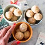 Raw Mango Macaroons + Habit Cosmetics Nail Polish