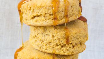 Vegan Sweet Potato Biscuits | www.sweetpotatosoul.com