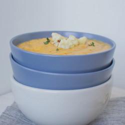 The Joy of Simplicity | Simple Sweet Potato Cauliflower Soup