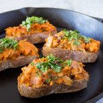 Sweet Potato & Caramelized Onion Toast {VIDEO}