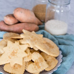 Sweet Potato Sugar Cookies {VIDEO}