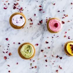 Colorful Vegan Cupcakes | www.sweetpotatosoul.com