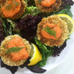 Vegan Crab Cakes on the Today Show