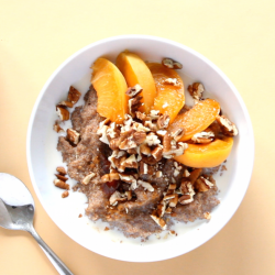 Teff Porridge | Vegan Back-to-School Breakfast Ideas