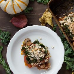 Holiday White Bean Butternut Squash Casserole with Wasa Breadcrumbs {VIDEO}
