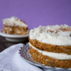 Raw Carrot Cake   www.sweetpotatosoul.com