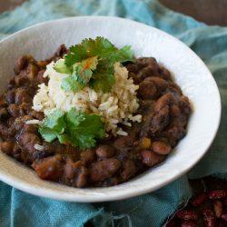 Vegan winter soup 3 Bean Chili | @sweetpotatosoul