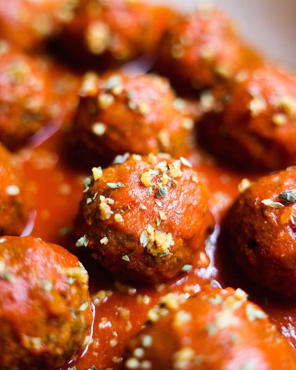 best vegan lentil meatballs