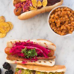 Vegan Hot Dog Toppings | www.sweetpotatosoul.com