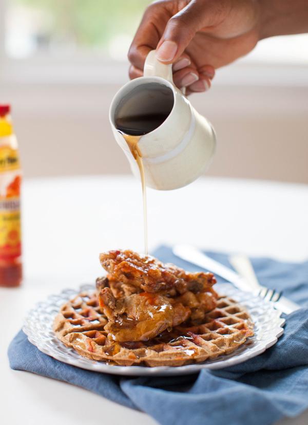 Vegan Chicken and Waffles | www.sweetpotatosoul.com